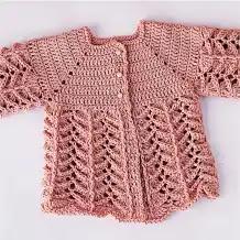 Chambrita de Bebé a Crochet