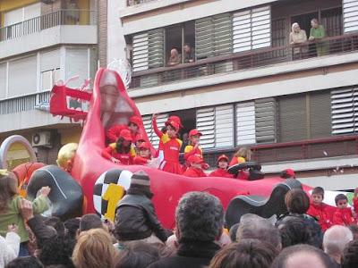 Cabalgata de Reyes Sevilla 2011