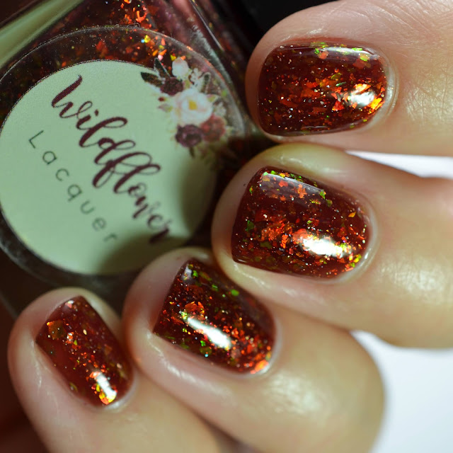 Wildflower Lacquer Fishous Rumors swatch