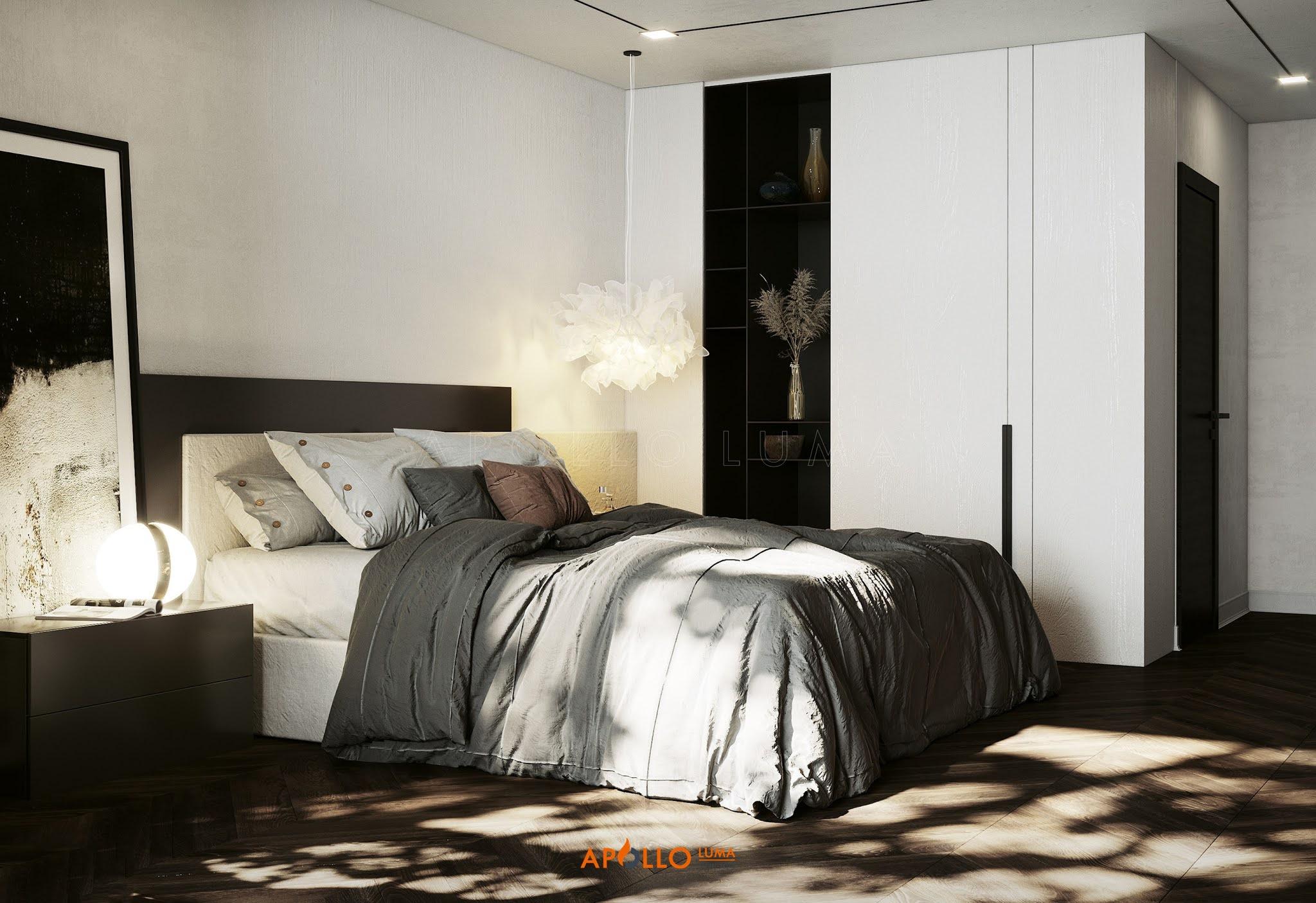 Thiết kế nội thất căn hộ 4 phòng ngủThiết kế nội thất căn hộ 4 phòng ngủ Vinhomes SkyLake Phạm Hùng Vinhomes SkyLake Phạm Hùng