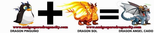 como hacer el dragon angel caido de dragon city formula 3