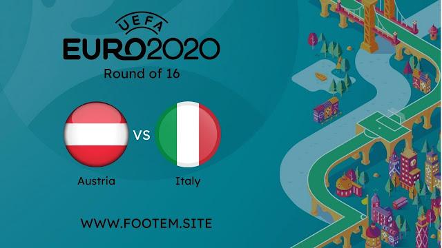 Italy vs Austria euro 2020 pre quarter