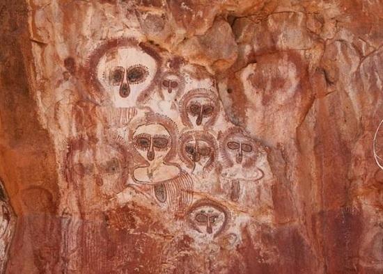 arte rupestre australiano