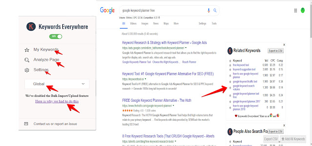 Keywords Everywhere is one of the best SEO tools