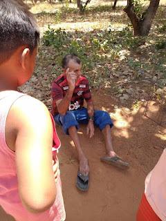 Idoso sofrer acidente no Povoado Contentamento em Oeiras do Piauí