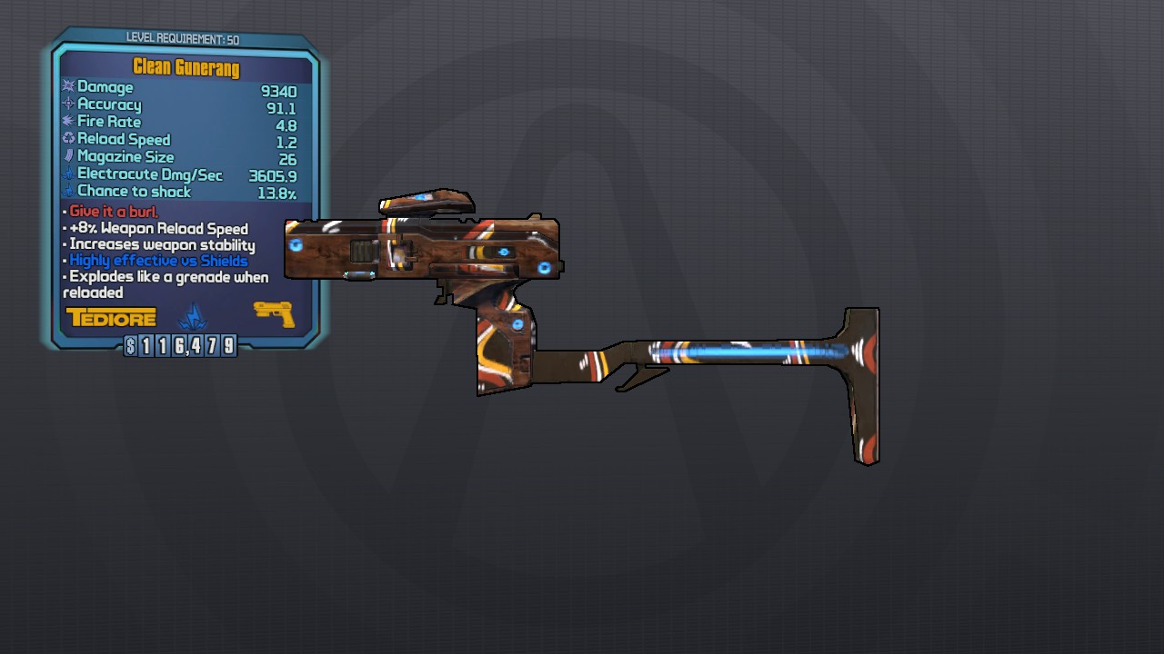 Gunerang: Borderlands 2 Legendary Weapons   Borderlands 2 Looter's