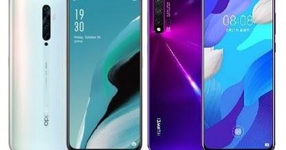 Oppo Reno 2Z Vs Huawei nova 5 Specs Comparison