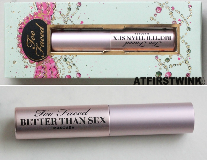 Too Faced La Belle Carousel - Better Than Sex mascara review