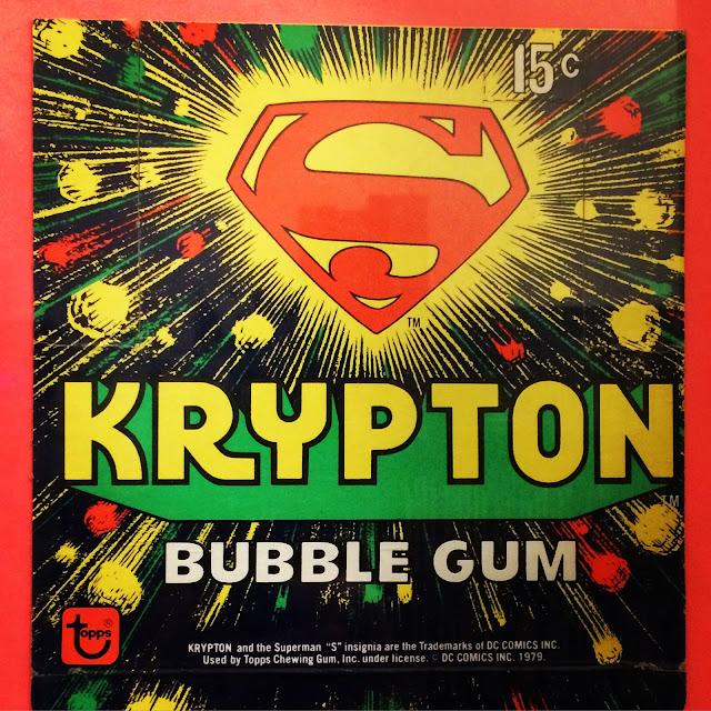 Krypton Bubble Gum box