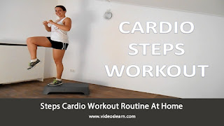 Steps Cardio Workout Routine At Home
