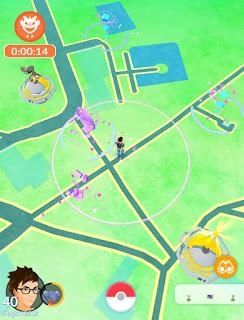 Pokemon Go na Sv. Kateřině