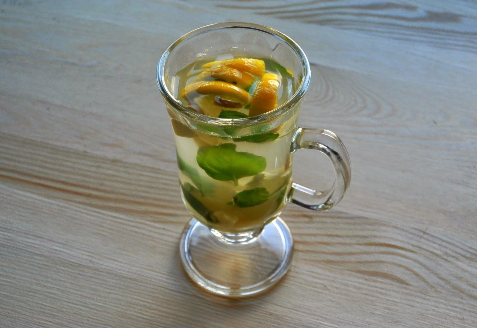 Herbata - cytryna, limonka, imbir, mięta
