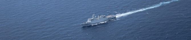 China's Homemade Aircraft Carrier Holds Drills In South China Sea