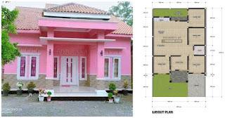 Denah Rumah 9x15 4 Kamar Tidur 1 Lantai Desain Rumah Minimalis