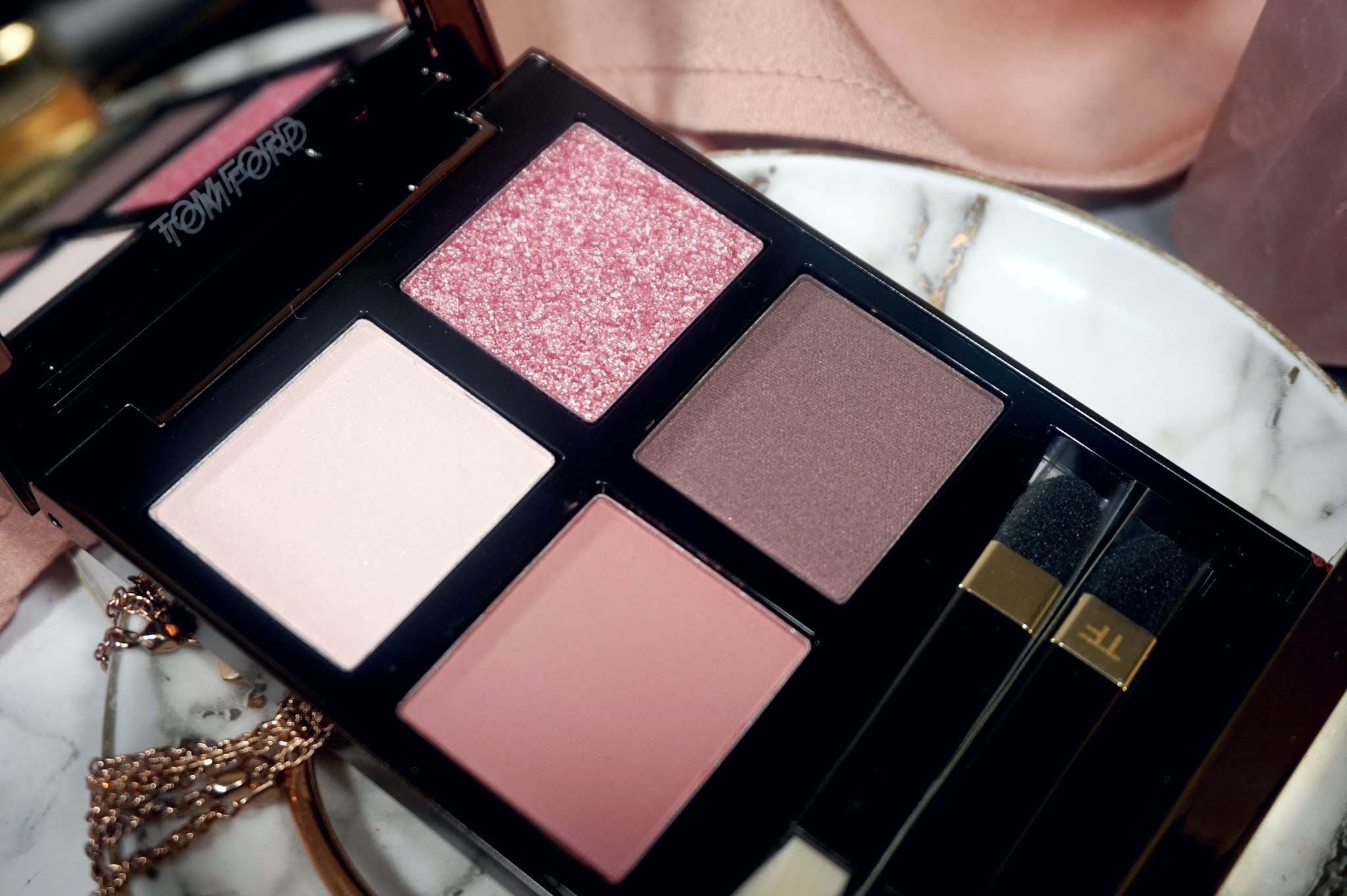 Tom Ford Insolent Rose Eye Color Quad Review and Swatches