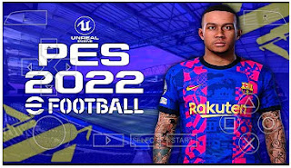 Download PES 2022 PPSSPP More Tunnels And New UCL Kits Updates & Latest Transfer