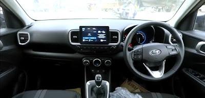 Hyundai Venue Interior