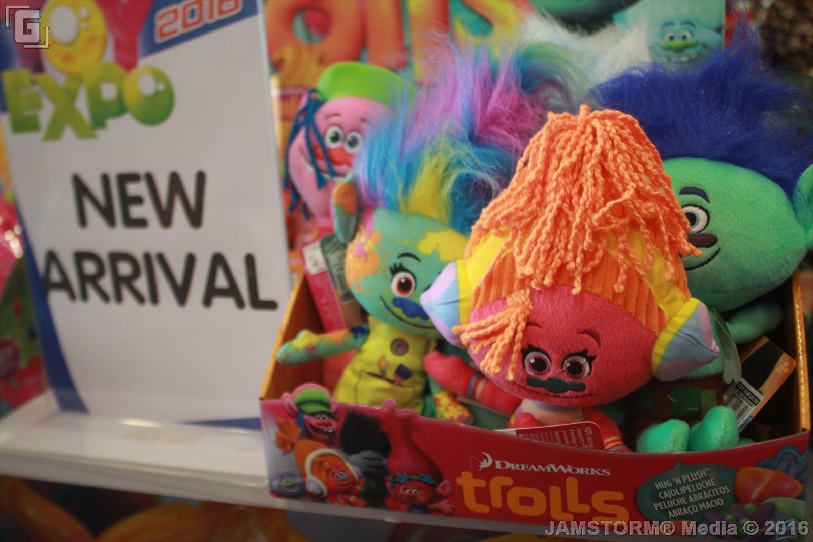Best Dreamworks Trolls Toys : Geekmatic toy expo trolls