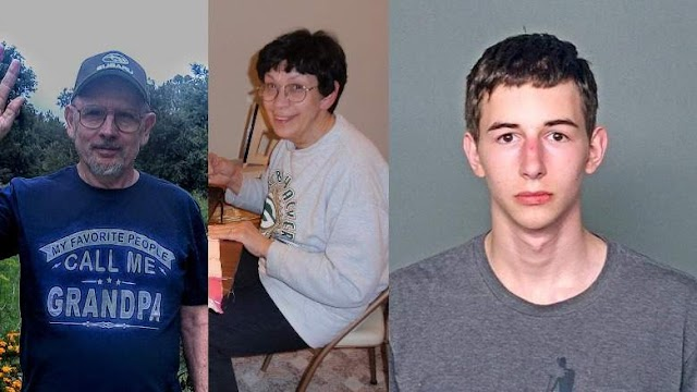 #Crime Story : Teen,17 y.o.from #Wisconsin  called #911 after shooting his Grandpa & Grandma !