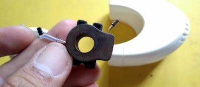 cara memperbaiki lem tembak glue gun rusak