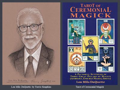 Lon Milo DuQuette. Tarot of Ceremonial Magick. Ordo Templi Orientis. OTO. Thelema. by Travis Simpkins