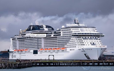 MSC Virtuosa - Cruise Ship - Malta Flag