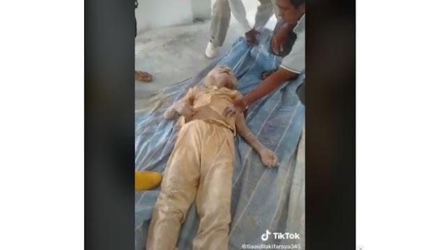 Viral Video Nenek Terkubur Hidup-hidup Selama 3 Hari di Tanah Proyek