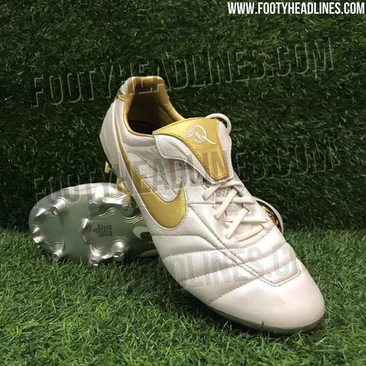 51314aa86 Nike will release a stunning limited edition remake of the iconic Nike Air Legend  R10 2005 football boot. The Nike 10R Tiempo Legend 7 Elite boots merge ...