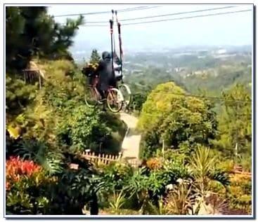 wisata sepeda udara di Malang