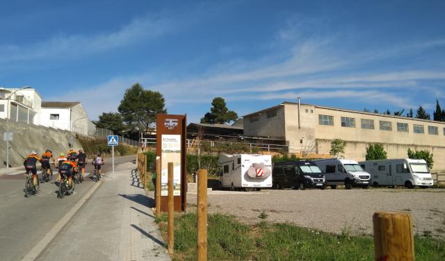 Àrea d'autocaravanes de Vilobí del Penedès