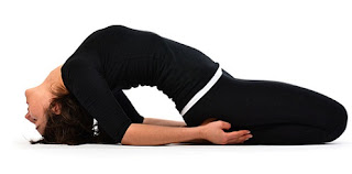 Yoga trainer at home for cervical