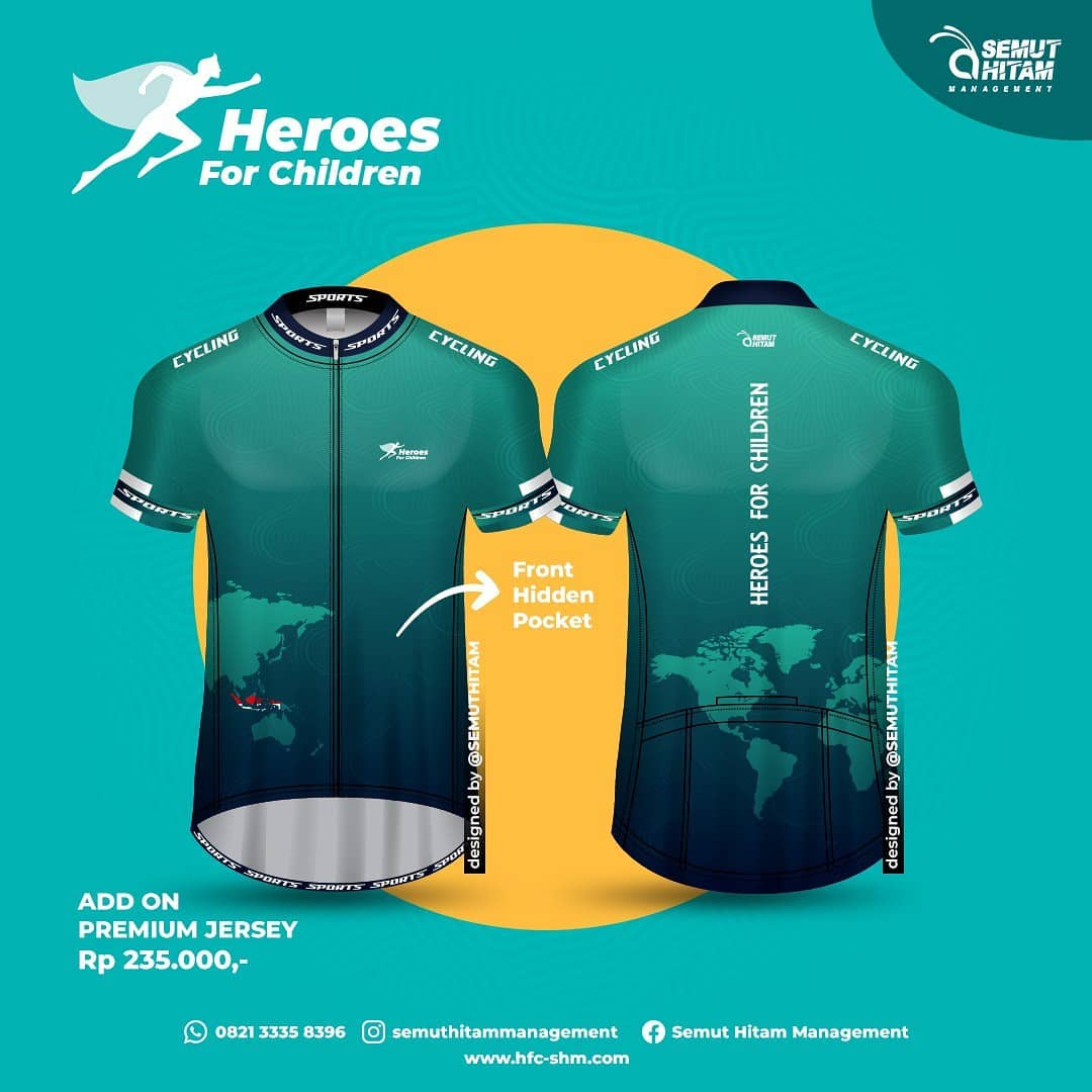 Jersey Ride 👕 Heroes for Children • 2021