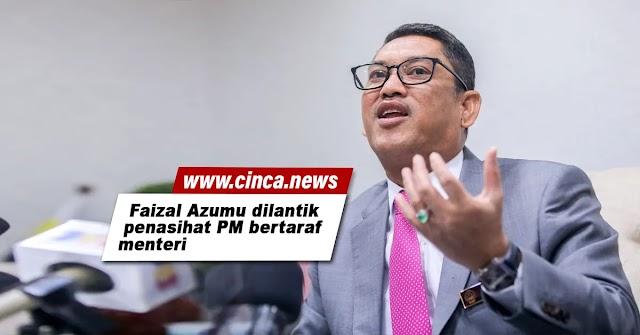Faizal Azumu dilantik penasihat PM bertaraf menteri