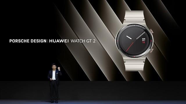 Porsche ve Huawei ortaklığı ile karşınızda: PORSCHE DESIGN HUAWEI WATCH GT 2