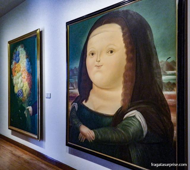 Mona Lisa de Botero, Museu Botero, Bogotá