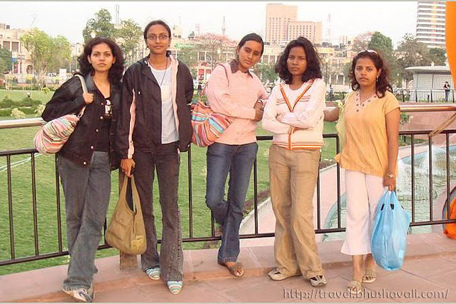 NIFT Chennai students at New Delhi