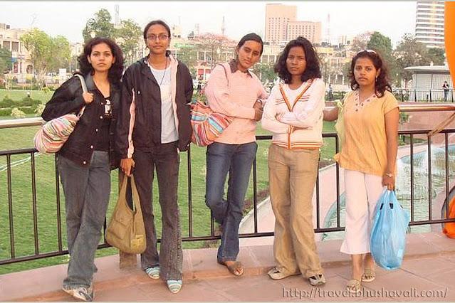 NIFT Chennai students at New Delhi
