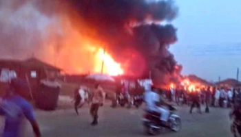 explosion fuel station akure