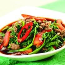 Cara memasak tumis ayam kangkung, resep tumis ayam kangkung