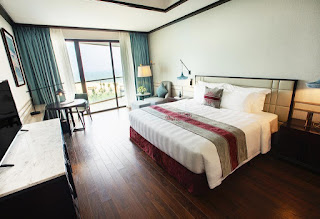 phòng deluxe ocean vinpearl nam hội an
