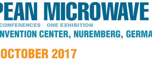 Can't wait to see you at European Microwave Week 2017(EuMW2017)