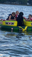 Even our Dogs like to TUBE!!!