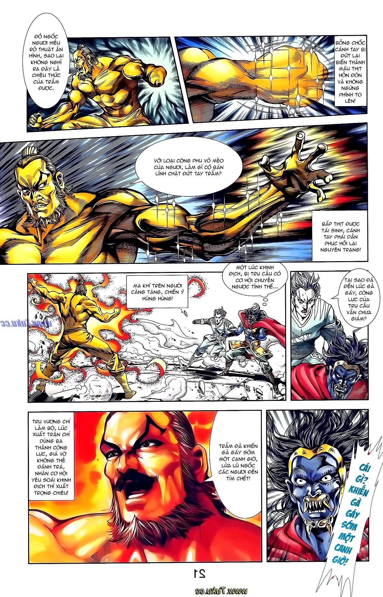 Cơ Phát Khai Chu Bản chapter 136 trang 15