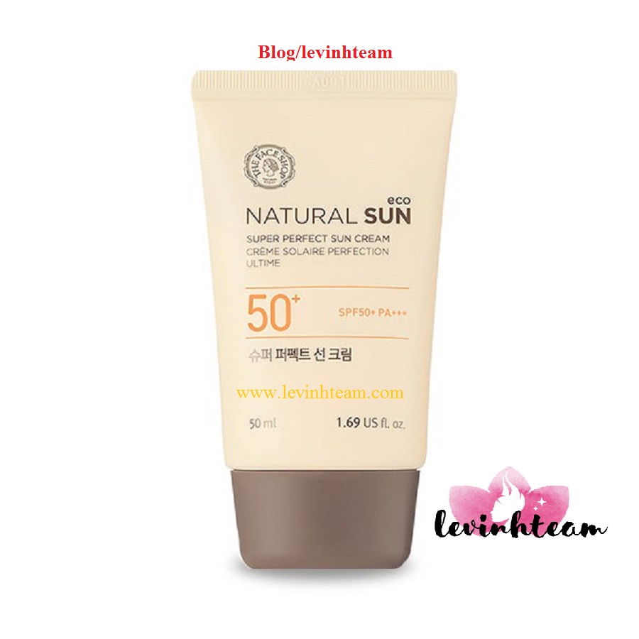 Kem Chống Nắng The Face Shop Natural Sun Eco Supper Perfect