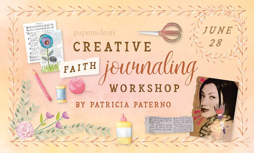5ed63fddac Creative Faith Journaling Workshop - papemelroti gifts - inspiration ...