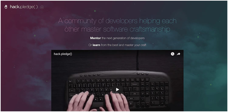 Hack.pledge - Website Belajar Coding Online untuk Programmer Pemula