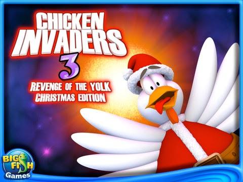 تحميل آخر إصدار من لعبة حرب الفراخ في الفضاء للكمبيوتر والجوال, Chiken Invaders Game for Android and PC download