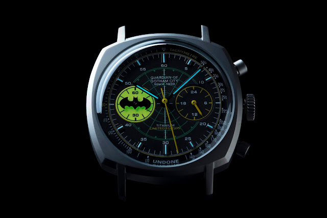 UNDONE x Batman 80th Anniversary Collection Caped Crusader