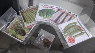 baja AB, Tanam sayur kangkung hidroponik, sayur organik, kangkung organik