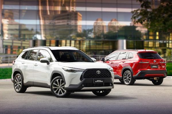 Toyota Corolla Cross 2022 Sedã - preço de assinatura